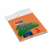 Салфетки губчатые (из регенерированной целлюлозы), 3шт 15*17 арт.02-04-0164