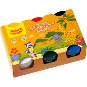 Краски пальчиковые Мульти-Пульти, 06 цв., 210мл, классические, картон ПК_32366