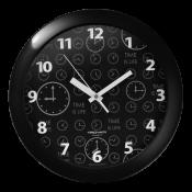 Часы настенные, диаметр 290мм, стекло минеральное, арт. 11100103, арт.11110116