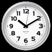 Часы настенные пластиковые, диаметр 245 мм, стекло пластиковое, арт. 21270216, арт. 21200216
