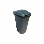 Бак мусорный с крышкой на колесах 110л