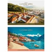 """Альбом для рисования 40л., А4, на скрепке ArtSpace """"Путешествия. Amazing landscape"""" А40_26266"""