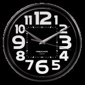 Часы настенные пластиковые, диаметр 225мм, стекло пластиковое, арт. 91900934