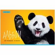 """Альбом для рисования 20л., А4, на скрепке ArtSpace """"Животные. Funny panda"""", А20ф_33623"""