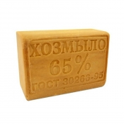 Мыло хозяйственное твердое 65%