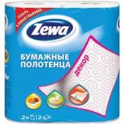 """Кухонные полотенце """"Zeva"""" декор 1*2 рул."""