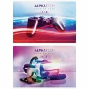 """Альбом для рисования 40л., А4, на скрепке ArtSpace """"Увлечения. Neon. Alphatech"""" AА40_26248"""